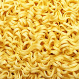 Yellow instant noodles Stock Photography