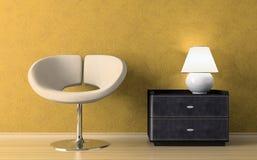 Yellow interior Stock Photos