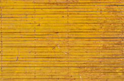 Yellow iron fence Stock Photos