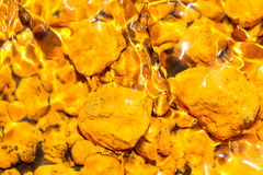 Yellow Iron Oxide Royalty Free Stock Photography