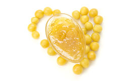 Yellow jam Stock Image