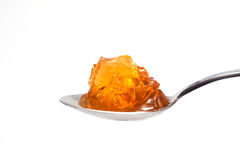Yellow jelly Royalty Free Stock Image