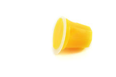 Yellow jelly Royalty Free Stock Photography