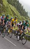 Yellow jersey Stock Photo