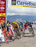 Yellow Jersey- Christopher Froome Stock Image