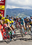 Yellow Jersey- Christopher Froome Royalty Free Stock Photos