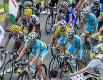 The Yellow Jersey Inside the Peloton Royalty Free Stock Images