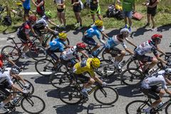 The Yellow Jersey - Tour de France 2018 Royalty Free Stock Image
