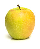Yellow juicy apple Royalty Free Stock Images