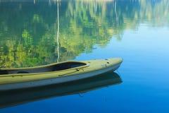 Yellow kayak Royalty Free Stock Image