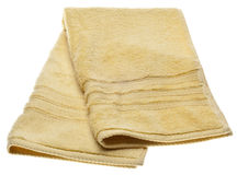 Yellow Kitchen Dish Towel Royalty Free Stock Images