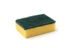 Yellow Kitchen Sponge Royalty Free Stock Photo