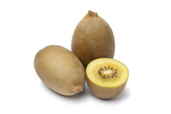 Yellow kiwi fruit Royalty Free Stock Images