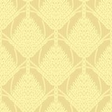 Yellow knitted openwork background pattern Royalty Free Stock Image