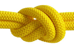 Yellow knot Stock Photo