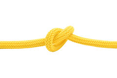 Yellow knot 2 Stock Photo