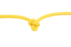 Yellow knot 2 Royalty Free Stock Image
