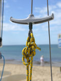 Yellow knots Stock Photos