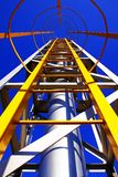 Yellow Ladder Royalty Free Stock Images