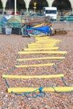 Yellow ladder Stock Photos