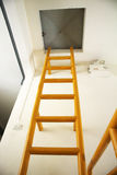 Yellow Ladder Stock Image
