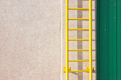 Yellow Ladder. Stock Photography