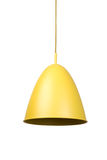 Yellow lamp Royalty Free Stock Images