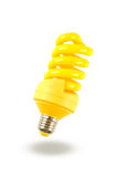 Yellow lamp Stock Photography