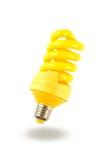 Yellow lamp Stock Photography