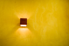 Yellow Lamp Stock Image