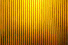 Yellow lamp shade. Royalty Free Stock Photos