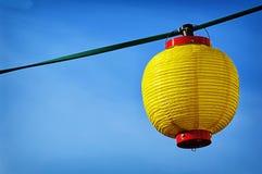 Yellow lampion Stock Photography