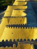 Yellow, Landmark, Sky, Wall Stock Image