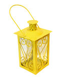 Yellow lantern Royalty Free Stock Image