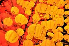Yellow lanterns Royalty Free Stock Photography