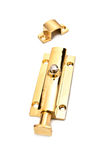 Yellow latch Royalty Free Stock Photos