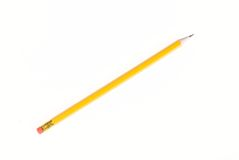 Yellow Lead Pencil Royalty Free Stock Images