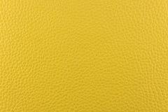 Yellow leather Stock Photo