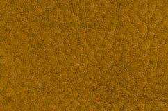 Yellow leather background Stock Image