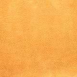Yellow leather background Stock Photo