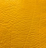 Yellow leather background royalty free stock photo