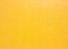Yellow leather background. Royalty Free Stock Photos