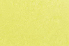 Yellow leather Royalty Free Stock Images