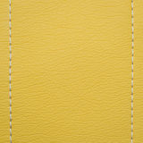 Yellow leather texture background Stock Image
