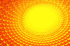 Yellow LED patterns Royalty Free Stock Image