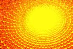 Yellow LED patterns Royalty Free Stock Image