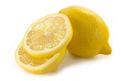 Yellow lemon Royalty Free Stock Images