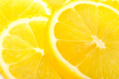 Yellow lemon. More juice good for health Stock Images