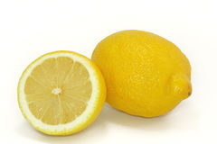 Yellow lemon Stock Photography