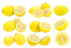 Yellow lemon Stock Images